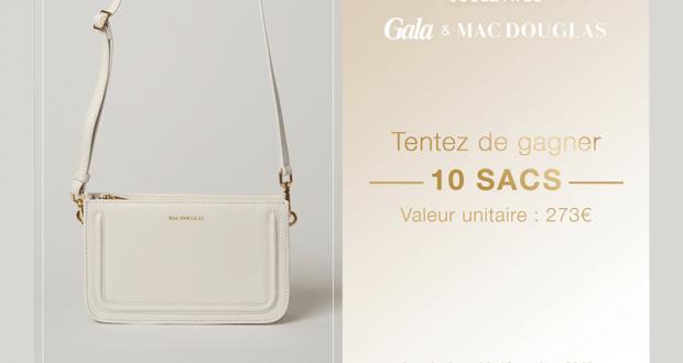 10 sacs Mac Douglas Gutenberg offerts