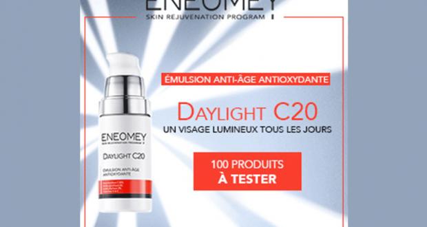 100 Anti-Âge Daylight C20 Eneomey à tester