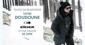 14 doudounes Eider offertes