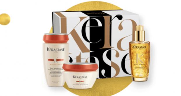 16 coffrets de produits de beauté et soins Kérastase offerts