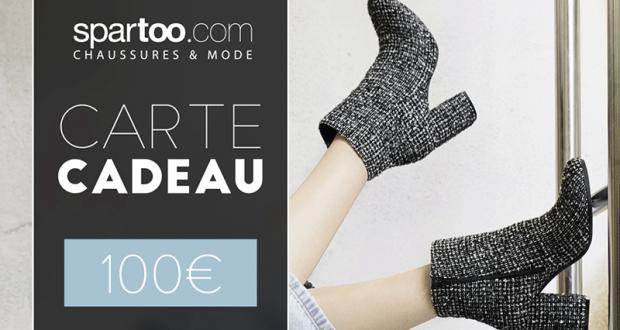 20 bons d'achat Spartoo.com de 100 euros offerts