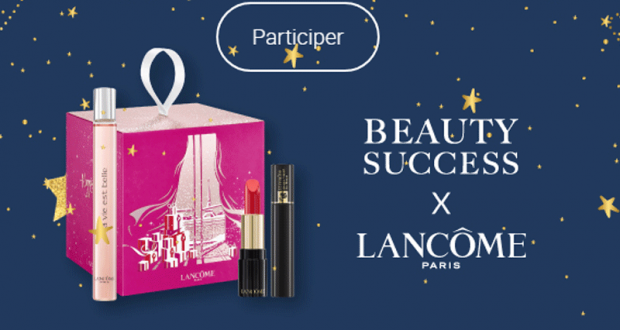 20 coffrets de beauté Lancôme offerts