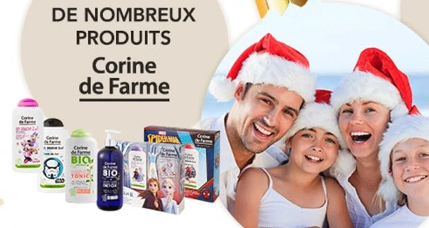 24 Coffrets de produits et de soins Corine de Farme offerts
