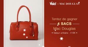 4 sacs à main Mac Douglas offerts