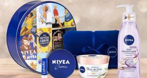 5 lots de 5 produits de soins Nivea + 1 plaid offerts