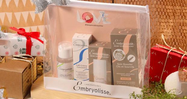 5 trousses de 4 produits de soins Embryolisse offertes