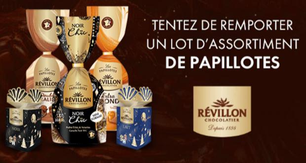 80 lots de chocolat Revillon offerts