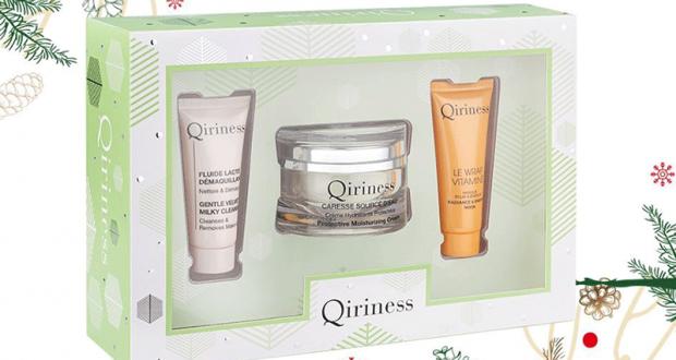 Coffret de 3 produits de beauté Qiriness offert