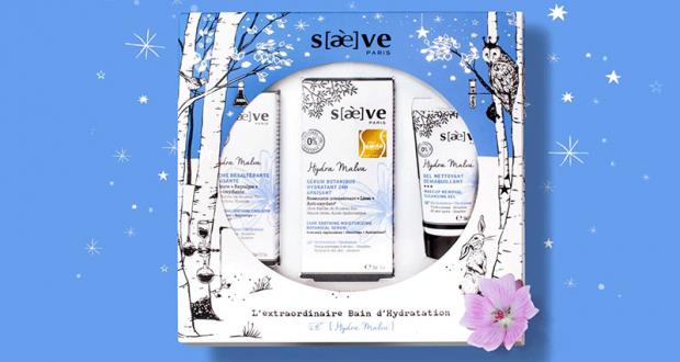 Coffret de 3 produits de soins Saeve offert