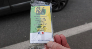 Distribution Gratuite d'Ethylotests - Les Sables d'Olonne