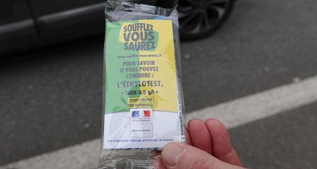 Distribution Gratuite d'Ethylotests - Les Sables d'Olonne