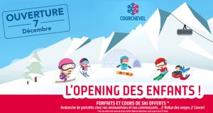 Forfait de ski offert pour les moins de 13 ans