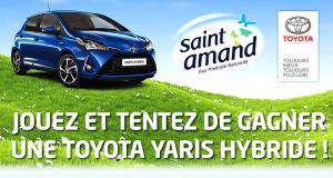 Gagnez une voiture de marque Toyota modèle Yaris Hybride