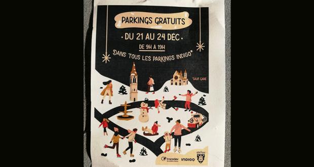 Parkings Indigo gratuits