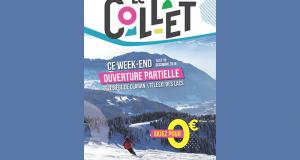 Station de ski le collet ouverte Gratuitement