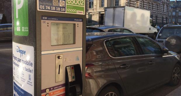 Stationnement gratuit - Dieppe