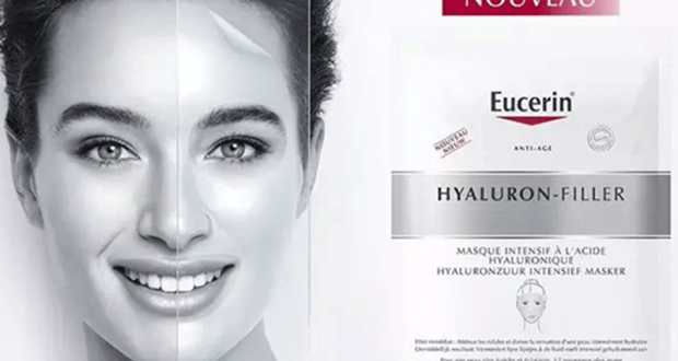 Testez Eucerin masque Hyaluron-Filler