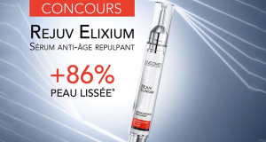 Un sérum anti-âge Rejuv Elixium offert