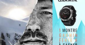 Une montre Garmin Fénix 6 offerte
