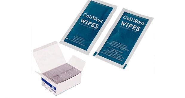 Échantillons gratuits de Lingettes de nettoyage pour téléphone