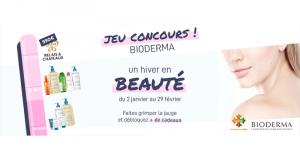 1 an de produits BIODERMA offert