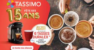 1000 lots de 6 tasses Duralex offerts