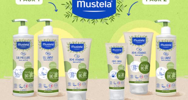 1000 soins bio Mustela offerts