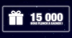 15 000 bons d'achat Flunch offerts