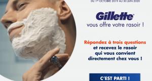 199850 Échantillon gratuit de rasoirs Gillette Skinguard ou Proglide