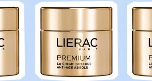 20 crèmes soyeuses anti-âge absolu premium de Lierac offertes