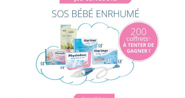 200 coffrets de soins pour bébé offerts