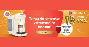 30 machines à café Bosch offertes