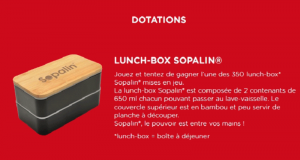 350 lunch-box offertes