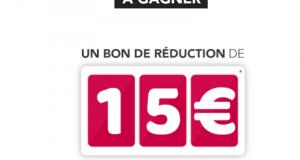5000 bons de réduction SNCF de 15 euros offerts