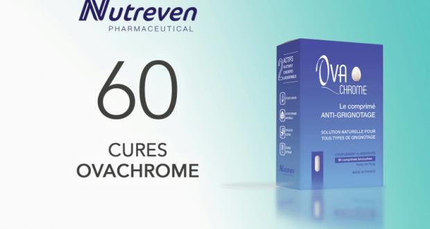 60 Cures Ovachrome de Nutreven à tester