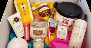 Box de 15 produits de beauté offerte