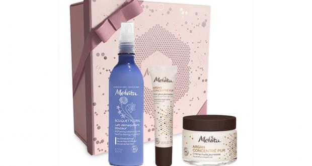 Pack bien-être de produits Melvita offert