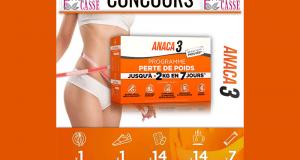 Programme perte de poids Anaca3 offert