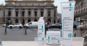 Rituel hydratant Hydralina de 3 produits Dermina offert
