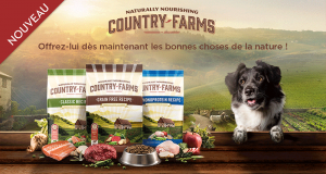 Échantillons Gratuits GRAIN FREE AU POULET de COUNTRY FARMS
