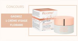 10 crèmes visage Florame offertes