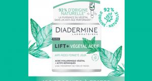 100 Crèmes Anti-Rides Fermeté Jour Lift+ Végétal Actif à tester