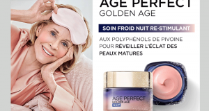 100 Soins Nuit Age Perfect Golden Age à tester