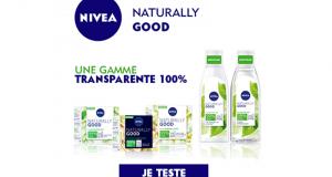 100 gammes de soins Nivea Naturally Good à tester