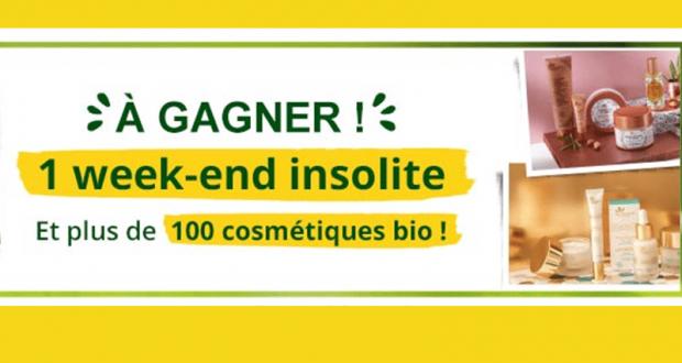 100 produits cosmétiques bio offerts