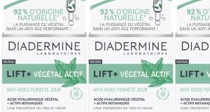 100 soins Lift + Végétal Actif Anti-rides de Diadermine à tester