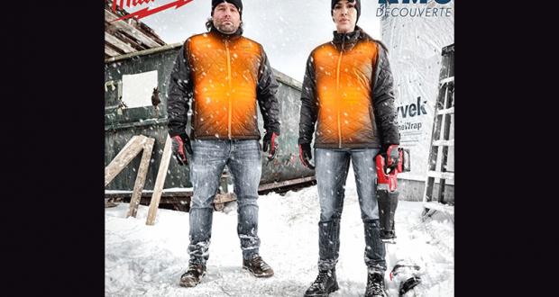 2 vestes chauffantes Milwaukee offertes