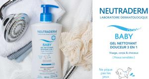 20 Gels Nettoyant Douceur 3 en 1 Neutraderm à tester