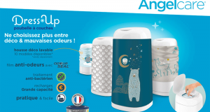 20 Poubelles à couches Dress Up Angelcare à tester
