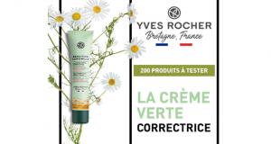 200 Crème Verte Correctrice Sensitive Camomille Yves Rocher à tester